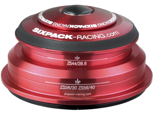 Sixpack SXR 2In1 Jeu de direction ZS44/28.6 I ZS56/30 et ZS44/28.6 I ZS56/40, red